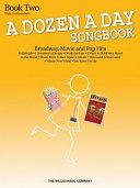 A Dozen a Day Songbook - Book 2
