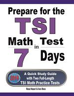 Prepare for the TSI Math Test in 7 Days