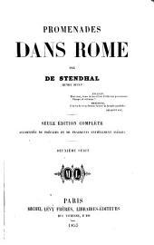 Promenades dans Rome: Volume1