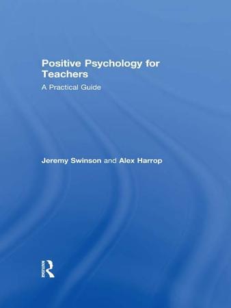 Positive Psychology for Teachers PDF
