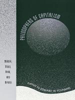 Philosophers of Capitalism PDF