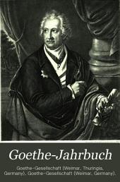Goethe-Jahrbuch: Band 5