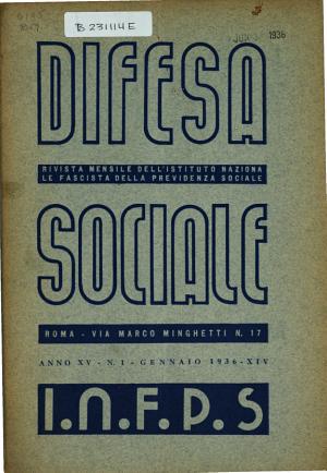 Difesa sociale
