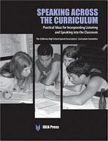 Speaking Across the Curriculum PDF