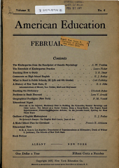 American Education: Volume 10, Issue 6