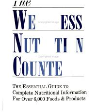 The Wellness Nutrition Counter Book PDF