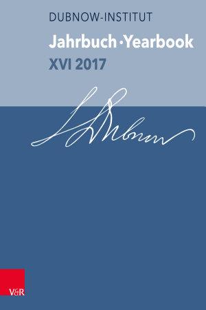 Jahrbuch des Simon Dubnow Instituts   Simon Dubnow Institute Yearbook XVI 2017 PDF