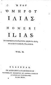 Homeri Ilias: Latin text