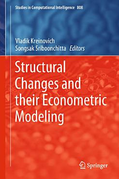 Structural Changes and their Econometric Modeling PDF