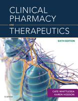 Clinical Pharmacy and Therapeutics E Book PDF