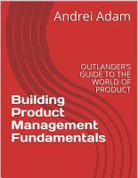 Building Product Management Fundamentals PDF