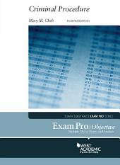 Exam Pro on Criminal Procedure, 4th: Edition 4
