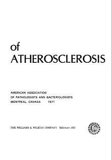 The Pathogenesis of Atherosclerosis PDF