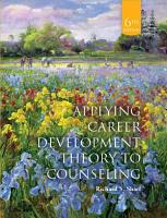 Applying Career Development Theory to Counseling PDF