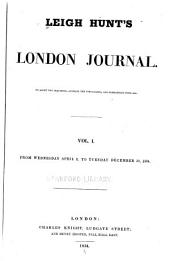 Leigh Hunt's London Journal: Volumes 1-2