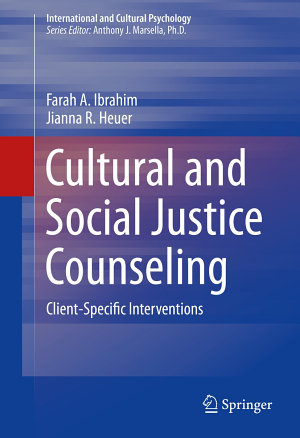 Cultural and Social Justice Counseling PDF