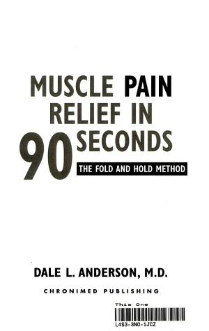 Muscle Pain Relief in 90 Seconds