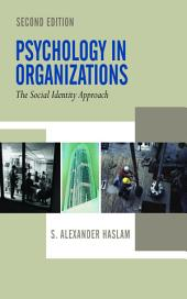 Psychology in Organizations: Edition 2