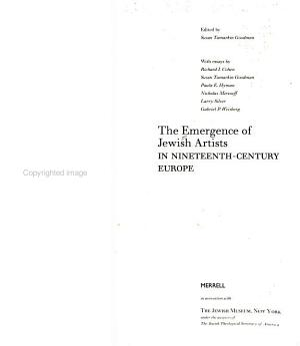 The Emergence of Jewish Artists in Nineteenth-century Europe