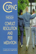 Coping Through Conflict Resolution And Peer Mediation Book PDF