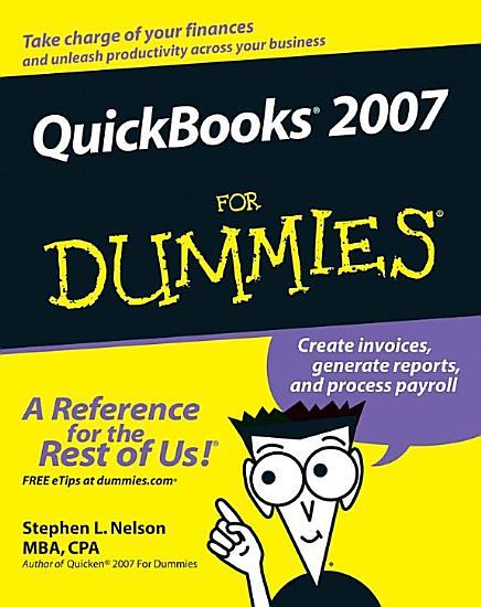 QuickBooks 2007 For Dummies PDF