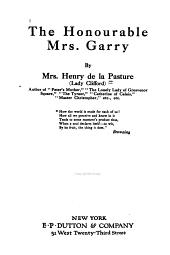 The Honourable Mrs. Garry