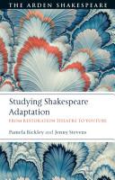 Studying Shakespeare Adaptation PDF