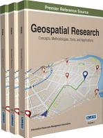 Geospatial Research  Concepts  Methodologies  Tools  and Applications PDF