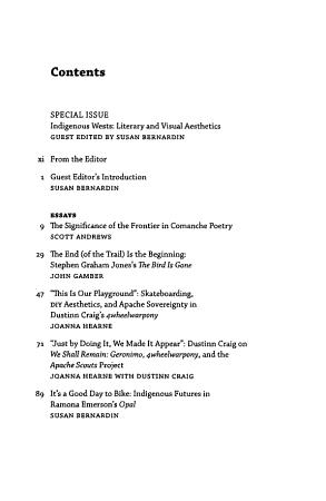 Western American Literature PDF