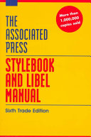 Download The Associated Press Stylebook and Libel Manual Book