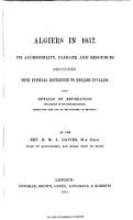 Algiers in 1857 PDF