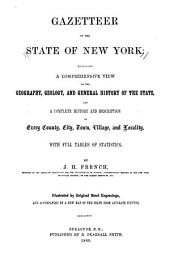 Gazetteer of the State of New York: Embracing a Comprehensive View of the Geography, Geology, and General History of the State, and a Complete History and Description of Every County, City, Town, Village and Locality: With Full Table of Statistics