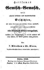 Heilsames Gemisch-Gemasch (etc.): 19