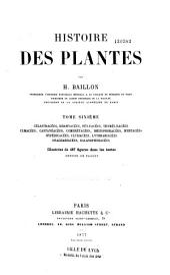 Histoire des plantes: Volume6