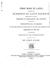 First Book in Latin