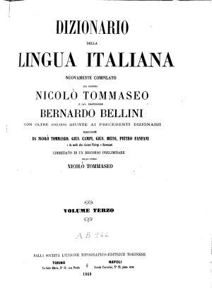 Dizionario della lingua italiana PDF