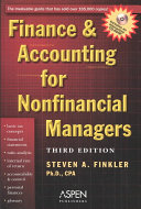 Finance   Accounting for Nonfinancial Managers PDF
