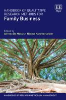 Handbook of Qualitative Research Methods for Family Business PDF