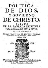 Politica de Dios, y Govierno de Christo, etc. With a dedication by Gabriel Ossorio