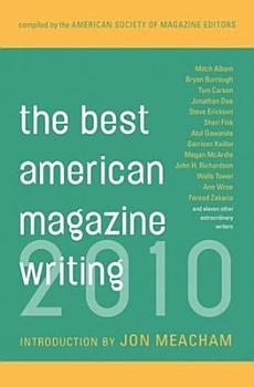 The Best American Magazine Writing 2010 PDF