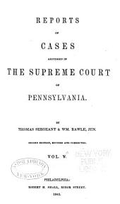 Reports of Cases Adjudged in the Supreme Court of Pennsylvania: Volume 11
