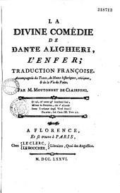 La Divine comédie de Dante Alighieri, l'Enfer