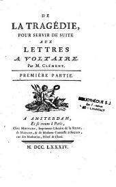 Lettres à Mr. de Voltaire