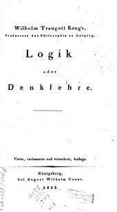 System der theoretischen Philosophie: Logic