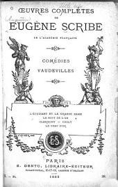Œuvres complètes de Eugène Scribe: Volume29