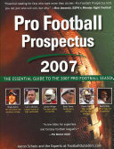 Pro Football Prospectus 2007