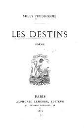 Les Destins: poème