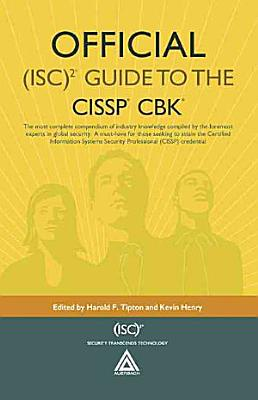Official  ISC 2 Guide to the CISSP CBK PDF