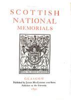 Scottish National Memorials PDF
