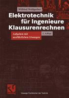 Elektrotechnik f  r Ingenieure   Klausurenrechnen PDF